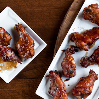 Hoisin Stout Chicken Wings.