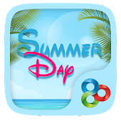 Summer Day Go Launcher Theme