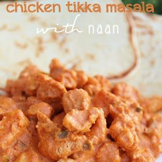Chicken Tikka Masala with Naan Recipe
