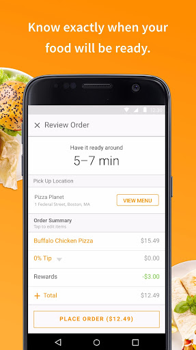 LevelUp: Order food ahead and never wait in line Screenshot
