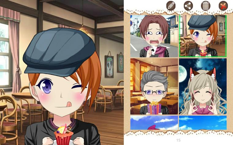 Anime Avatar Studio Screenshot