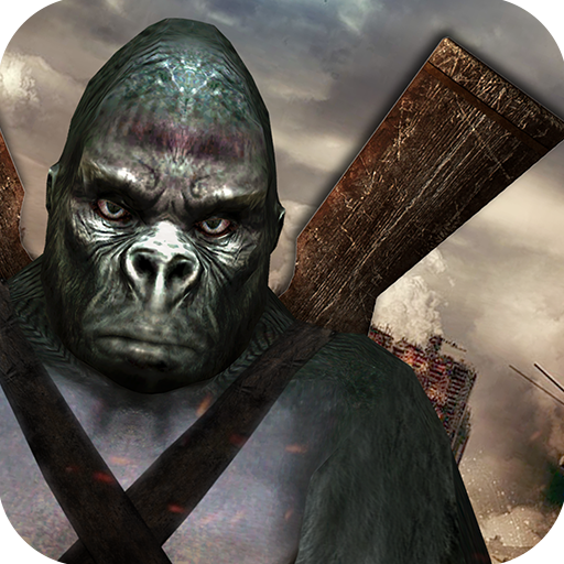 Crazy Ape City Hunter Survival Game: Planet Earth