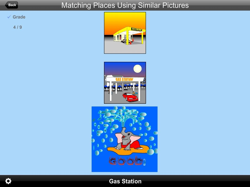 Matching Places U Sim Pic Lite- screenshot