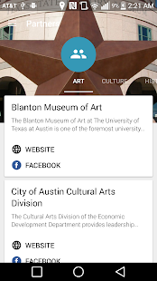 Austin Museum Partnership- screenshot thumbnail