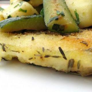 Panga With Zucchini