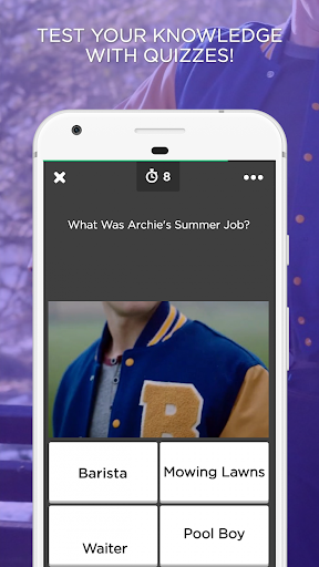 Archie Amino for Riverdale - screenshot