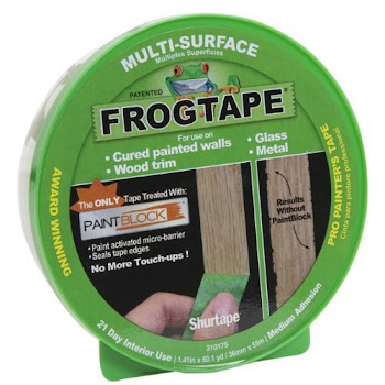 "FrogTape Multi-Surface Painting Tape - Green, 1.41"" x 60yrd"