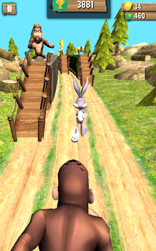 Bunny dash Vs Hunted jungle runner 2018  screenshots EasyGameCheats.pro 1