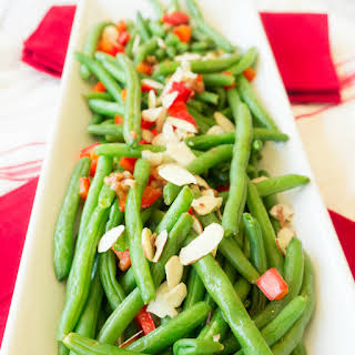 Green Beans with Brown Butter & Almonds.