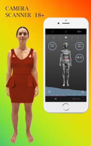 Girl Camera Body scanner prank by selfiecamerastudios
