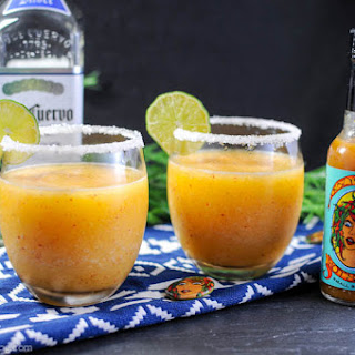 Crazy Gringa's Datil Peach Margarita