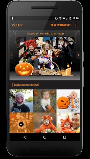 Print Happy Halloween Cards