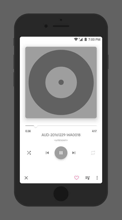 how to use music player app