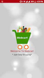 "WebCart - eCommerce Multi-Store Shopping Cart – ""Google Play"" programos"