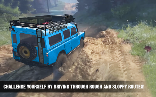 Offroad Cruiser Tough Driving 4x4 Simulation Game 1.0 Mod screenshots 3