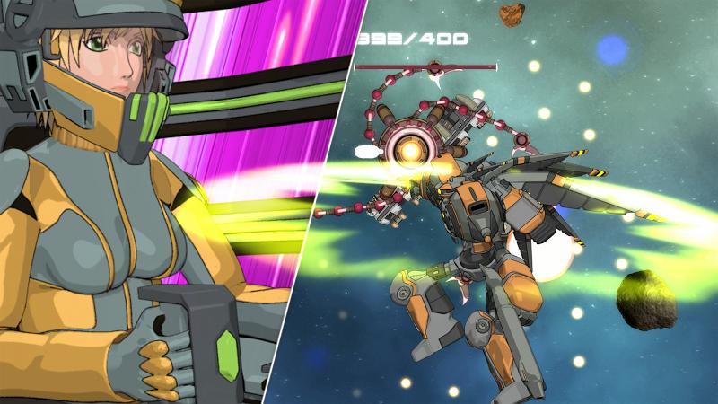 Quantum Revenge - Mecha Robot Space Shooter Screenshot 5