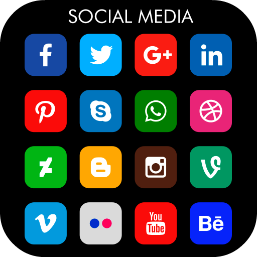 All Social Networks in one Text Video Call Chat - Apps on
