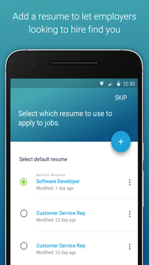 job search by careerbuilder screenshot