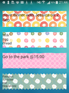 Sticky Memo Notepad *Dots*Lite- screenshot thumbnail