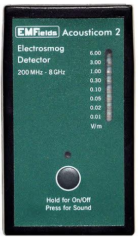 Acousticom 2 Mikrovågsmätare