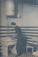 Photo: Állandóan forró, 80 fokos tiszta vízben végezhető a mosogatás elektromos hőtárolóval. (Seidner foto.)