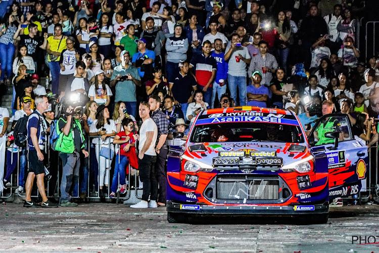 Voor Neuville en de andere WRC-rijders zit het er door corona toch ook een dag vroeger op
