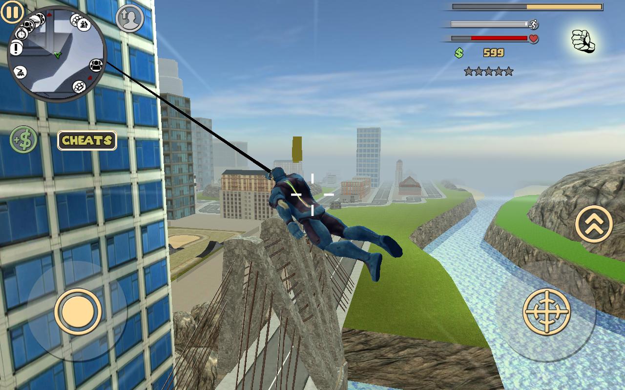 Rope Hero: Vice Town- screenshot
