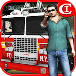 Crazy FireTruck Parking 3D Icon