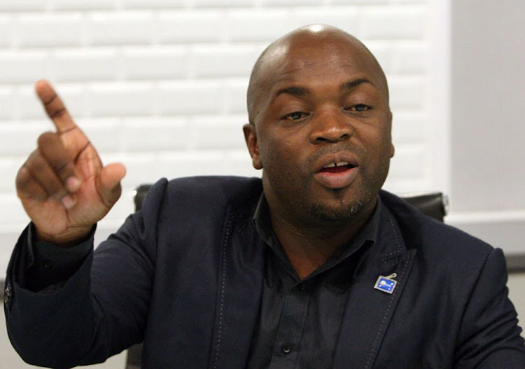 Mayor Solly Msimanga. Picture: ANTONIO MUCHAVE