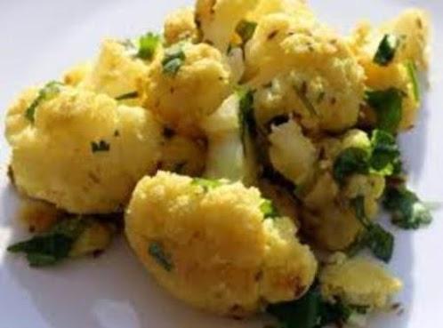 Healthy Ginger-Cumin Cauliflower