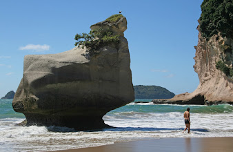 Photo: Strand bei der Cathedral Cove