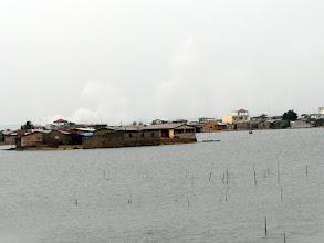 Photo: bord du lac Ahémé