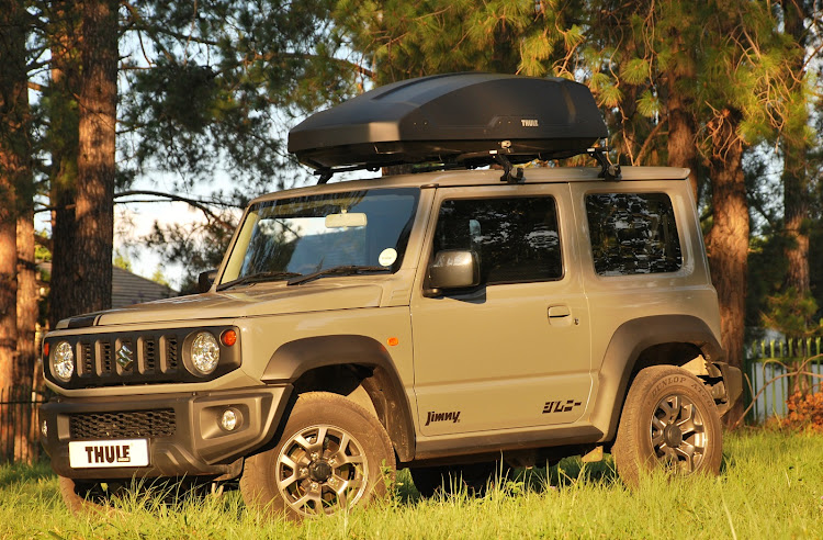 Thule Finds Another Way To Create Luggage Space For Jimny