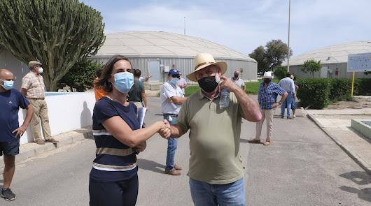 Almería empieza a dar agua desalada a los regantes con el convenio con CGUAL