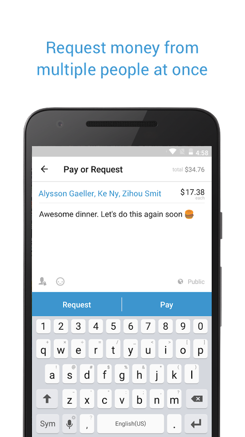 Venmo- screenshot