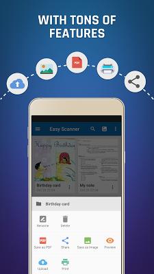 Easy Scanner - Camera to PDF - screenshot