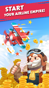 Merge Plane - Click & Idle Tycoon Screenshot