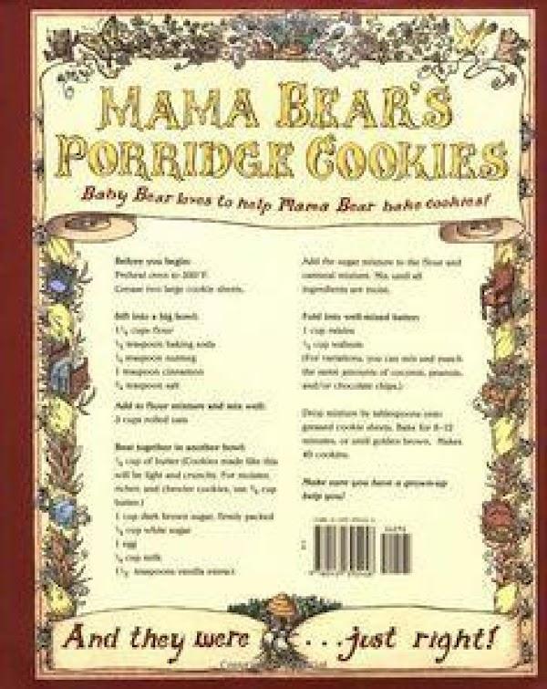 Mama Bear's Porridge (oatmeal) Cookies Recipe
