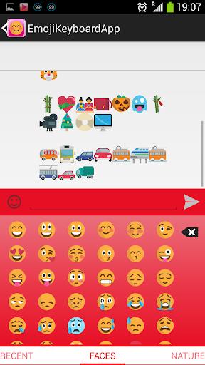 Pink Emoji Keyboard