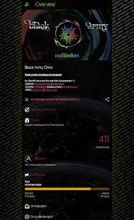 Black Army Omni-アイコンパック-新鮮なダッシュボード