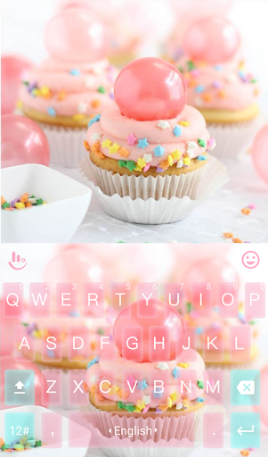 Cup Cake Keyboard Theme