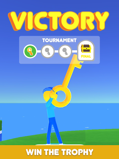 Golf Race - screenshot