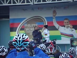 Photo: Phillipe Gilbert 2012 W/C tribute ride