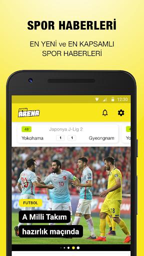 Spor Arena – Canlı Skor, Maç Özetleri, Fikstür 1.2.0 screenshots 1