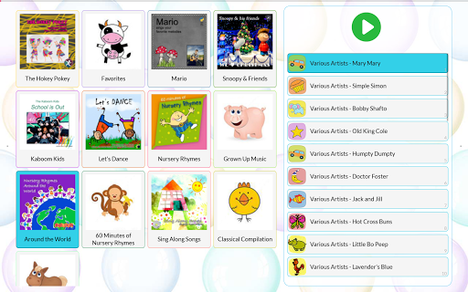 Tabby (PRO) - Audio Player for Kids screenshot