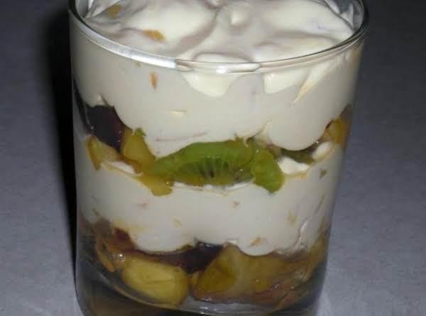 Mango Cream Parfait Recipe