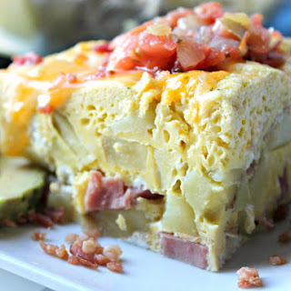 Instant Pot Ham and Egg Casserole Recipe