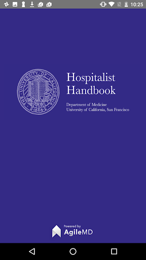 Hospitalist Handbook screenshot for Android