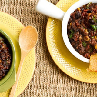 Vegan Smoky BBQ Chili.