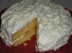 Pineapple Orange Cream Cake Recipe